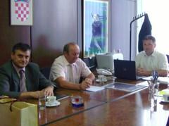Zamjenik župana i načelnik u posjeti kod državnog tajnika