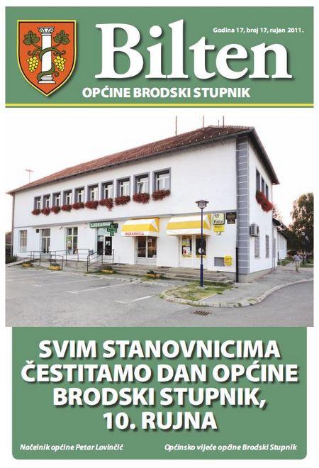 Bilten općine Brodski Stupnik, broj 17