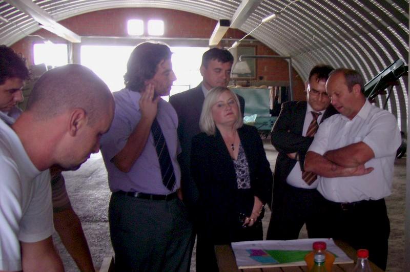 Državna tajnica Tihana Kraljić posjetila gospodarsku zonu Općine Brodski Stupnik