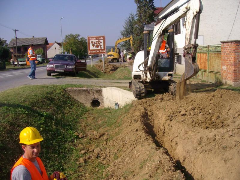 Izgradnja plinske mreže