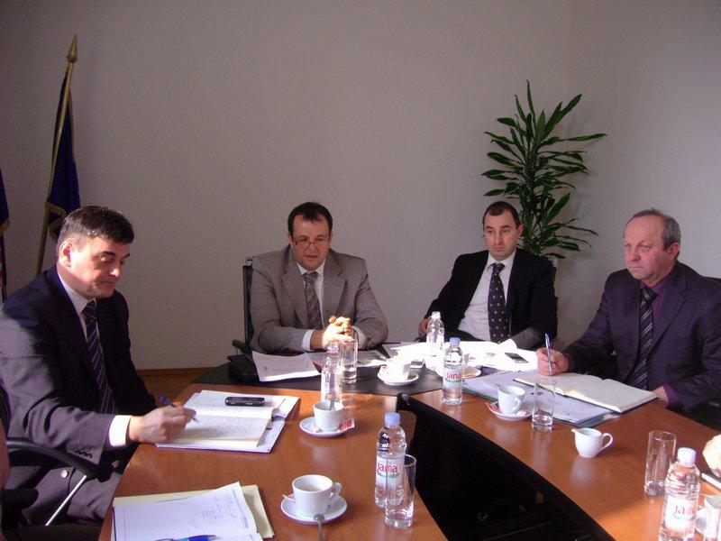 Sastanak u Ministarstvu regionalnog razvoja, šumarstva i vodnog gospodarstva
