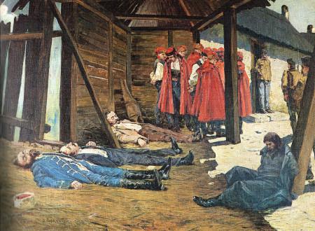 Oton Ivekovic, Rakovicka pogibja (smrt Eugena Kvaternika)