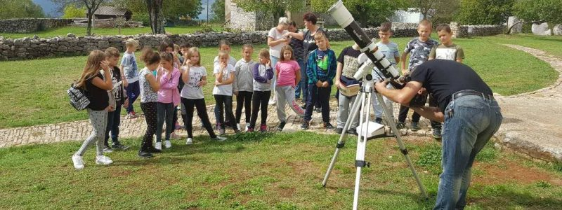 Izlet u Višnjan u Znanstveno edukacijski centar Višnjan i Zvjezdarnicu