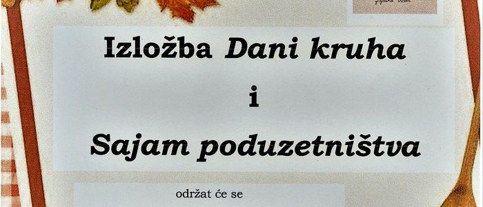 Dani kruha i Sajam poduzetništva 20.10.2017. u Brodskom Stupniku