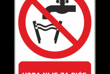 VAŽNA OBAVIJEST: Voda iz Vodovoda Slavonski Brod nije za piće!!!