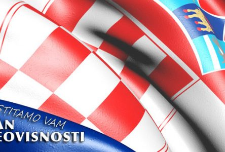 Čestitke povodom Dana neovisnosti Republike Hrvatske