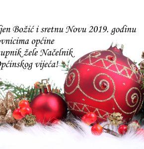 Blagoslovljen Božić i sretna i uspješna Nova 2019. godina!